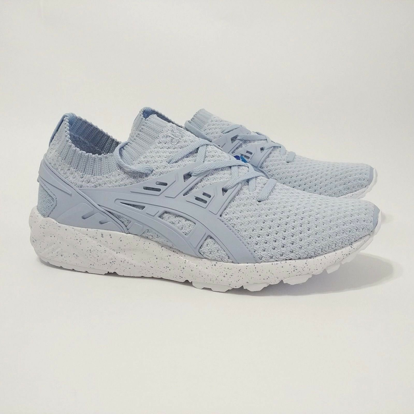 Asics Gel Kayano Knit Low Trainer Running Shoe Skyway Blue HN7Q8 Comfortable The latest discount shoes for men and women