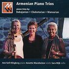 Armenian Piano Trios: Piano Trios by Babjanian, Chebotarian, Mansurian (CD, Sep-2015, dB Productions)