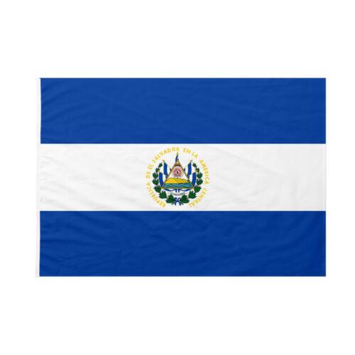 Bandiera da bastone El Salvador 100x150cm