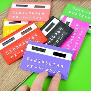 Mini-Random-Slim-Credit-Card-Solar-Power-Pocket-Portable-Calculator