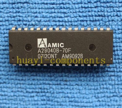 10pcs A29040B-70F 512K X 8 Bit CMOS 5.0 Volt-only Uniform Sector Flash Memory
