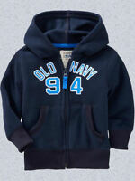 Old Navy Fleece Logo Hoodie Size 18-24m 2t 3t 4t 5t
