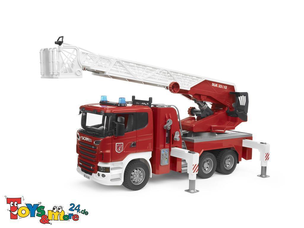 Bruder 03590 Scania R-Serie Feuerwehrleiterwagen