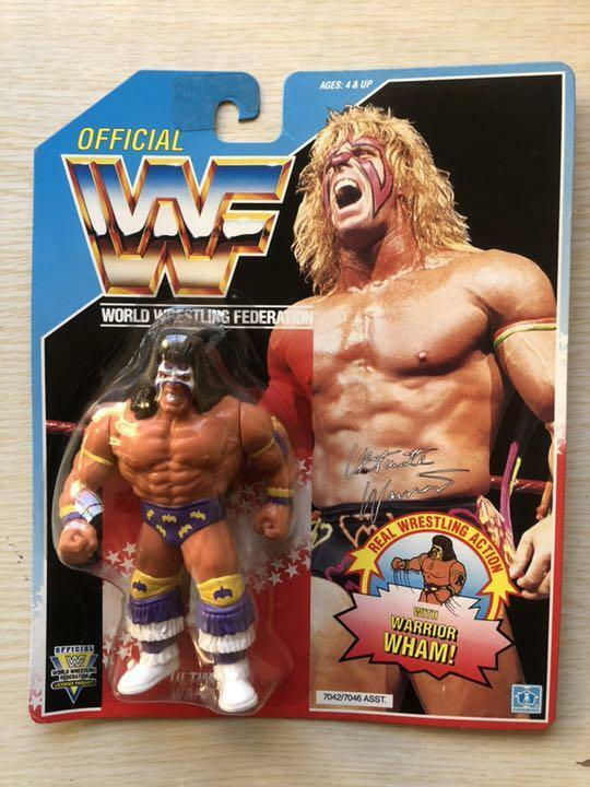 Hasbro WWF Ultimate Warrior 3rd misión figura  Sellado