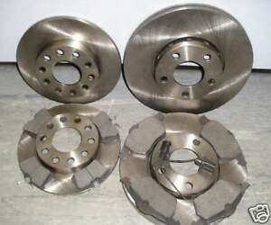 AUDI A4 2.0 TDI S LINE FRONT /& REAR BRAKE DISCS /& PADS 2004-/'08NEW COATED DESIGN
