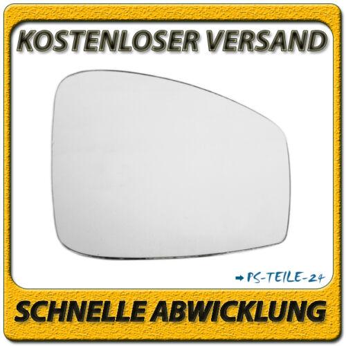 Spiegelglas für RENAULT SCENIC III 2009-2011 rechts Beifahrerseite konvex