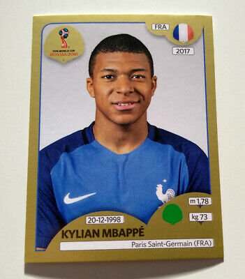 x4 2018 World Cup Instant Panini Kylian Mbappe Young Player Award Rookie Rc //630