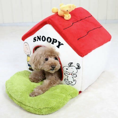 Snoopy garden with red roof House Smal lWashable Pet paradise 99855259 free