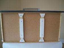 8 fuerte soporta Cajón Totalmente Ajustable, Kit De Reparación Hágalo usted mismo 26cm a 33cm (4 pares)