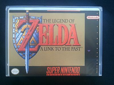 Legend of Zelda: A Link to the Past - SUPER NINTENDO - NO GAME INCLUDED -
