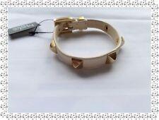Magnifique Bracelet Fantaisie Cuir Beige Doré  Bud to Rose by Diddi