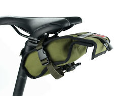 Roswheel Folding bike Cycling Seat Bag Road Bicycle Bike Canvas Saddle Bag Baske