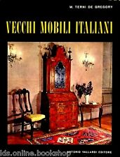 Vecchi mobili italiani Tipi in uso dal secolo XV al secolo XX - Antonio Vallardi