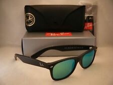 2944865824 item 3 Ray Ban New Wayfarer Matte Black w Green Mirror Flash Lens (RB2132  622 19 52) -Ray Ban New Wayfarer Matte Black w Green Mirror Flash Lens ( RB2132 ...