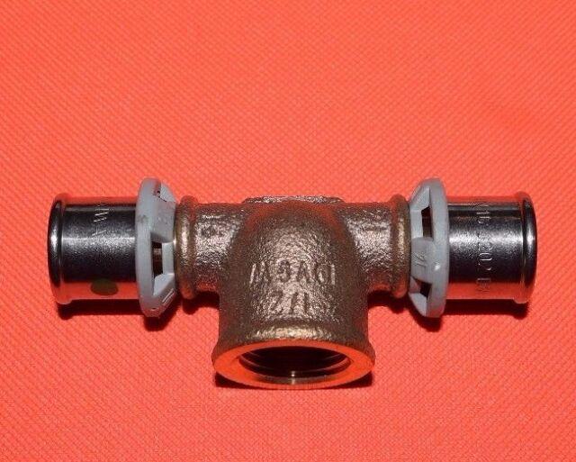 """Viega 458379 T-Stück mit SC Sanfix P 2117 16x1/2 """" IGx16 (621)"""