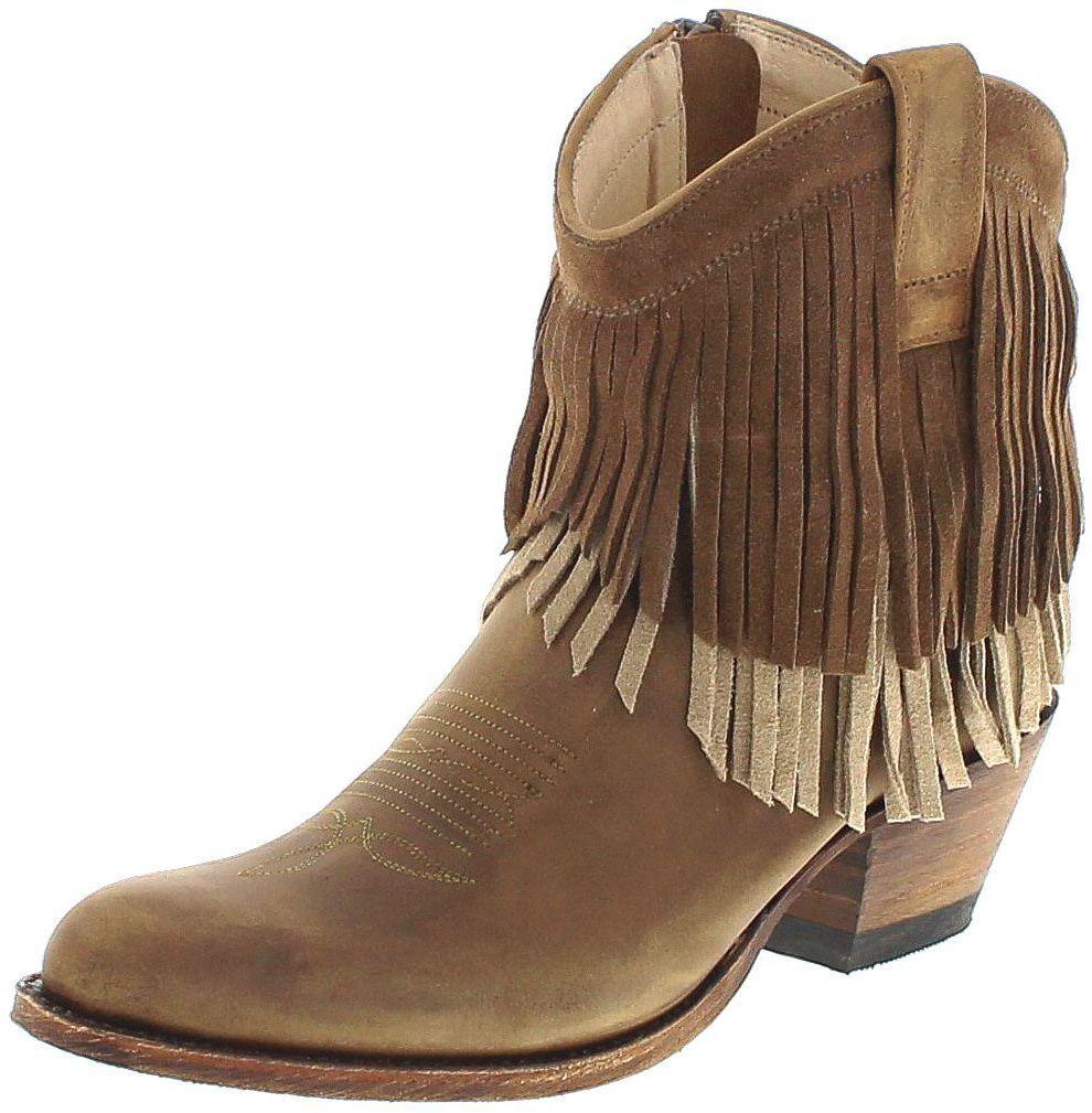 salutare Sendra Sendra Sendra stivali 13876 Tang Stivaletti da Donna Marrone Stivali di pelle  sconto online di vendita