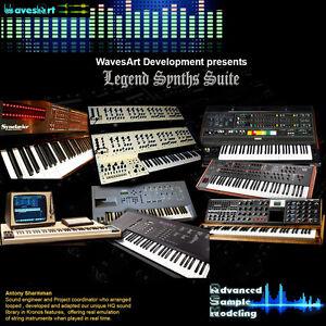 Details about Korg Kronos EXs Sound Library Legend Synths Suite