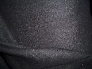 tissu-lin-coton-col-noir-50x140-cm