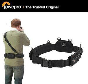 Lowepro S Amp F Light Utility Camera Sliplock Belt Mfr
