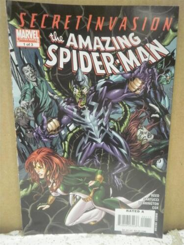 THE AMAZING SPIDER-MAN #1 OCT L116 2008 VINTAGE COMIC SECRET INVASION