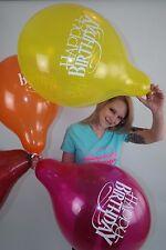"3 x große TUFTEX 17"" Luftballons HAPPY BIRTHDAY *GEBURTSTAG*TUF-TEX*"