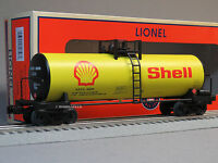 Lionel Shell Unibody Scale Tank Car 82858 O Gauge Train Oil Tanker 6-82858