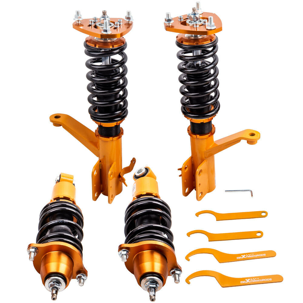 Damper Set Coil Spring Strut for Honda Element 2003-2011 Coilovers 24 Ways Adj