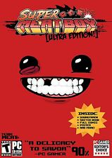 Super Meat Boy Ultra Edition - (PC Games, 2011) - NEW - FREE SHIPPING