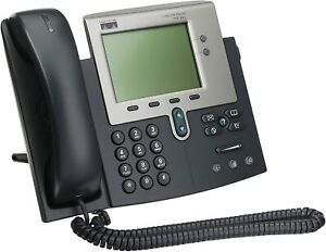 Cisco-CP-7941G-Unified-VoIP-IP-Phone-w-Handsets-and-Stands