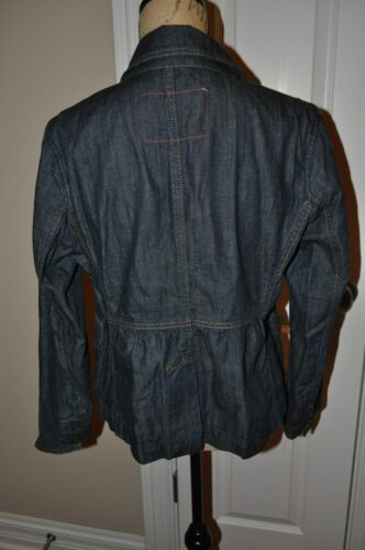 Gap Jean Gorgeous Dark Jacket Large Størrelse Jeans Blue Kvinders Z1qSdZ