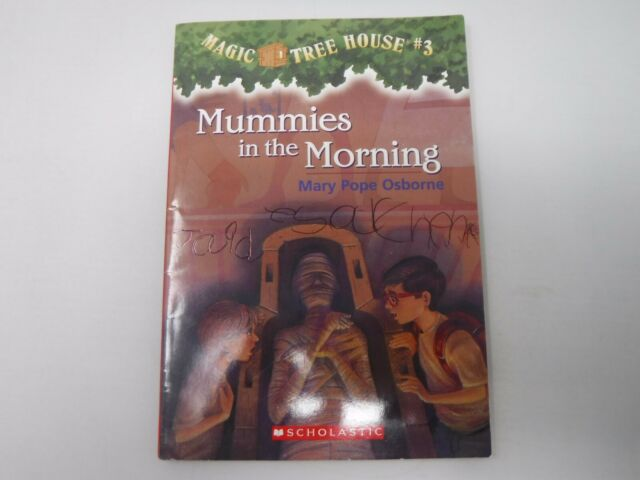 Magic Tree House Mummies In The Morning Book 3 Paperback Mary Pope Osborne
