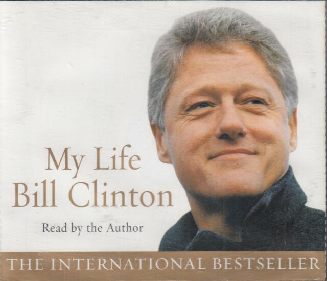 Bill Clinton My Life 6CD Audio Book Abridged Autobiography US President FASTPOST