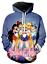 MenWomen-3D-Print-Anime-Sailor-Moon-Casual-Hoodie-Sweatshirt-Jacket-Pullover-Top miniature 13