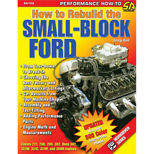 CarTech Book SA102 Mustang How To Rebuild The Small-Block Ford