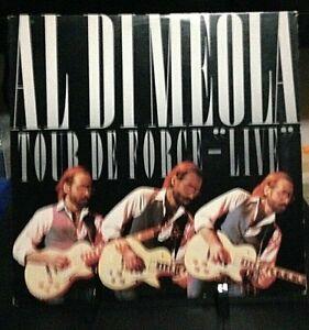 AL DI MEOLA Tour de Force-Live Released 1982 Record/Vinyl Collection USA