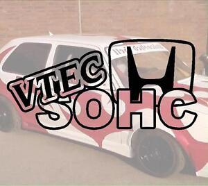 Vtec-SOHC-Hater-JDM-Sticker-Autocollant-PS-Power-fun-like-Shocker