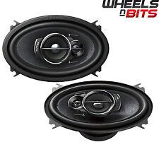"""Pioneer TS-A4633i 6""""x4"""" 3-Way Custom Fit 200W altavoces de audio de coche VW Golf MK1, 2,3"""
