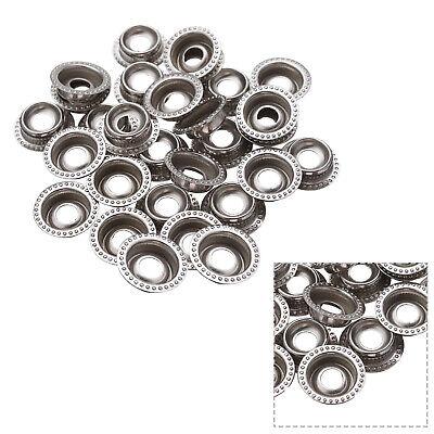 50pcs//set Metallo da Cucire Bottoni Automatici Bottoni Snap Fastener Vestiti Cappotto Giacca CLO