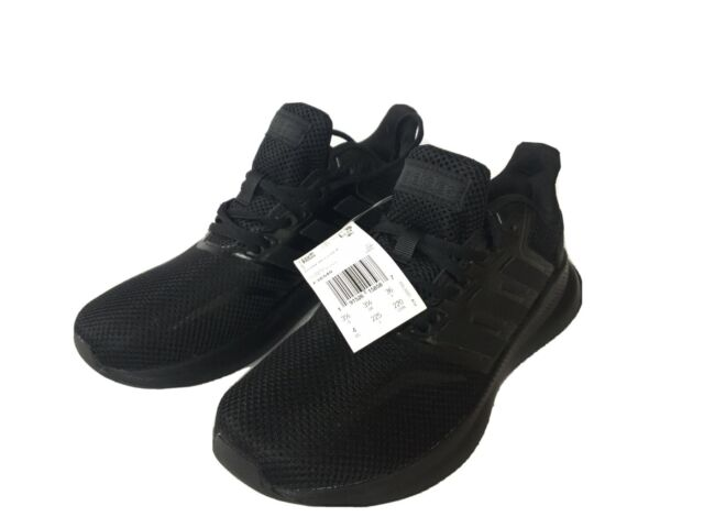 adidas black boys shoes