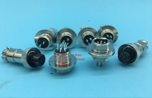 WD12 GX12 7pin 6pin 5pin 4pin 3pin 2pin Aviation Plug Socket Circular Connector