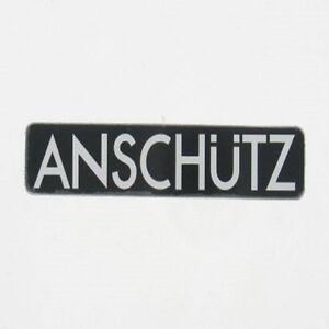 Original Anschutz aluminium rail 40cm professional 15.74 in  long 3,5cm