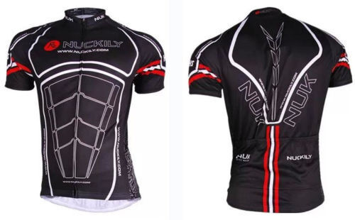 NUCKILY Mens Breathable Quick trockend Cycling Radtrikot Bicycle Jersey