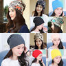 Unisex Men's Women's Hat Warm Winter Cotton Knit Cap Hip-hop Skull Beanie Hats