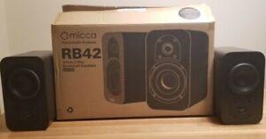 Análisis altavoces Micca RB42