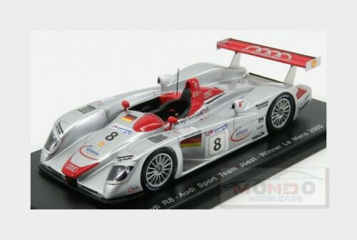 Audi R8 3.6L Turbo V8 #8 Winner Le Mans 2000 F.Biela E.Pirro SPARK 1:43 43LM00 M