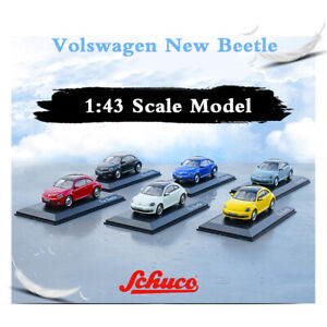 1:43 Scale Germany Schuco Car Diecast Model VW Volkswagen New Beetle Closed Top
