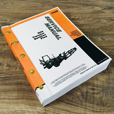 Case Dh4 Trencher Backhoe Plow Service Catalog Manuals Repair Technical Shop