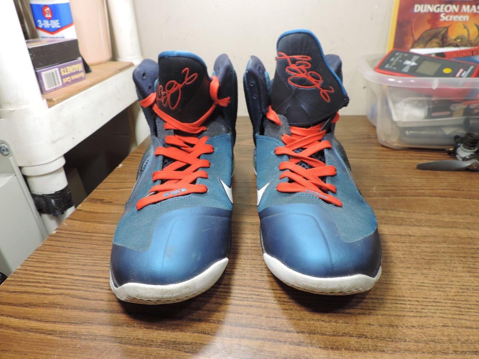 Nike LeBron 9 IX VNDS Griffey Swingman Dunkman Size 12 469764-30
