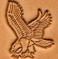 3D LEFT FACE FLYING EAGLE LEATHER STAMP 8836900 Tandy Stamping Tool Stamps Tools