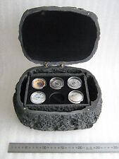 METEORITE COIN  CASE – BOX, for METEORITE SILVER COINS